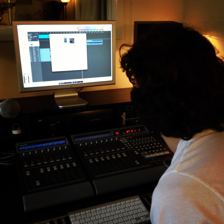 Lee Golledge - Music Producer for OYFE Studio Sessions