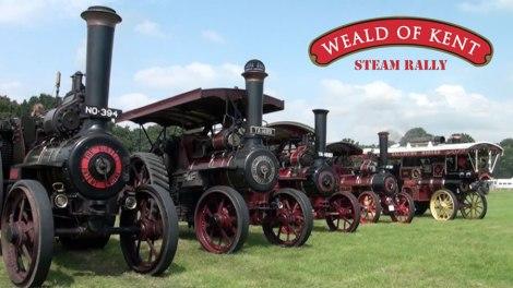 The Weald of Kent Steam Rally - Woodchurch - August 2014