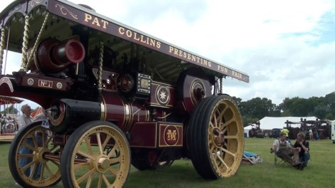 Pat Collins Showman Engine - Steam Rally