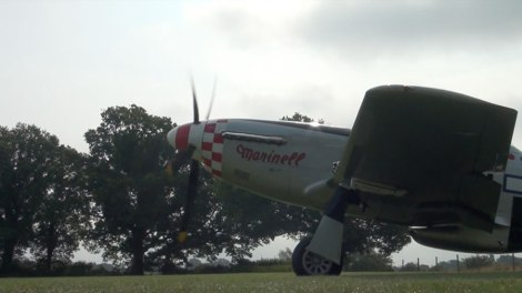 Spitfire at the Weald of Kent Steam Rally