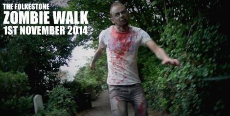 Folkestone Zombie Walk 2014