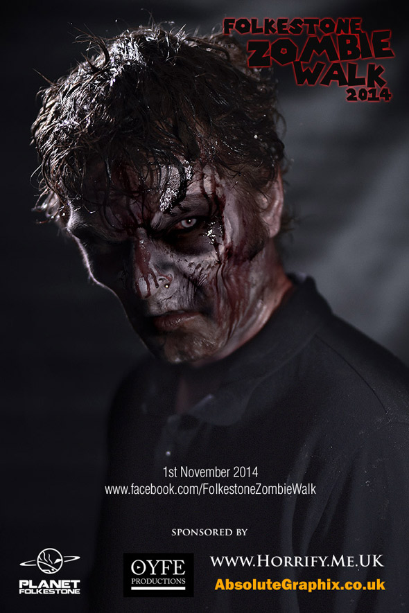 Adam from OYFE Productions after the Zombie Apocalypse